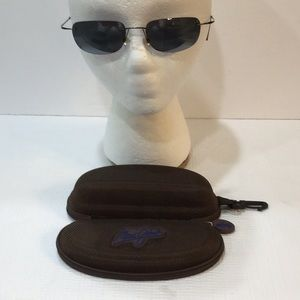 Rare!  Maui Jim Titanium sunglasses MJ 502…